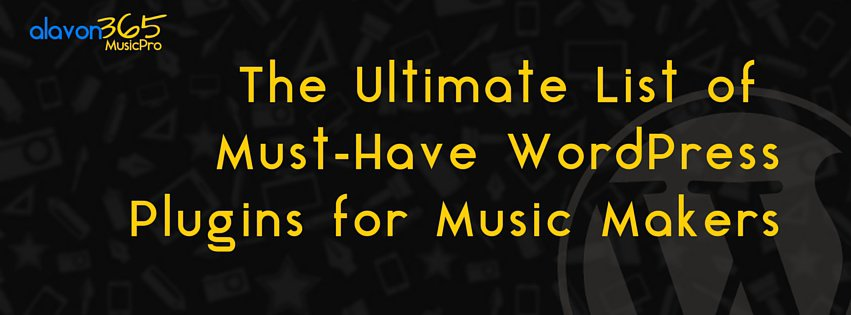 Free WordPress Plugins Every Music Maker Must Have