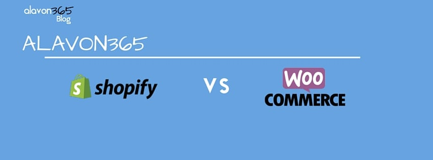WooCommerce vs Shopify Comparison 2016 iMAGE