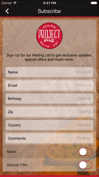 12 Mobile App Features You Can Use to Market Your Restaurant - Mailing list