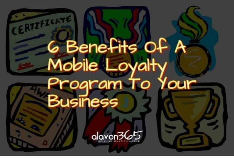 6 Reasons - Mobile Loyalty Program image