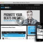 WordPress Theme for Producers (Music Maker Theme)