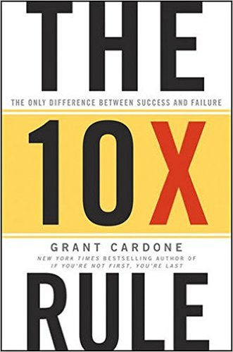 The 10X Rule: The Only Difference Between Success and Failure - Alavon365
