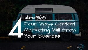 Four Ways Content Marketing Will Grow Your Business