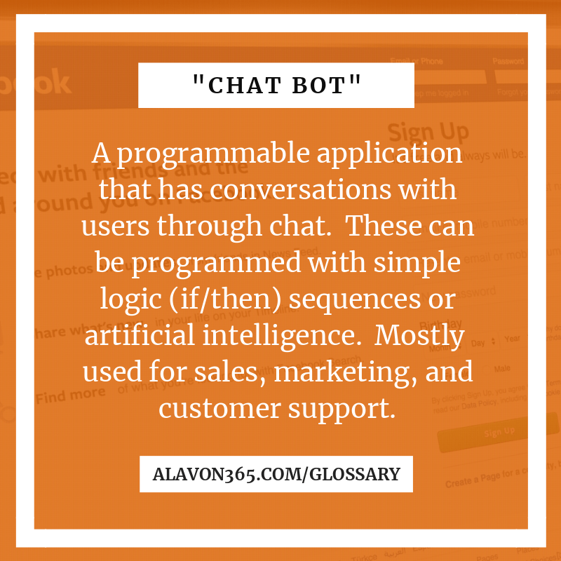 Chat Bot definition